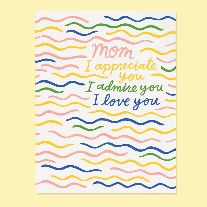 Appreciate Mom Card from The Good Twin