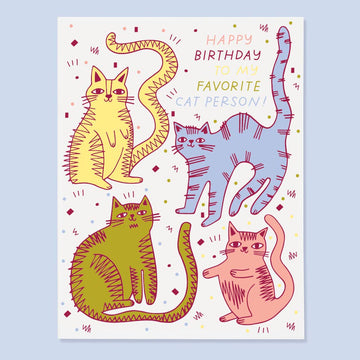 Cat Person Card by the Good Twin
