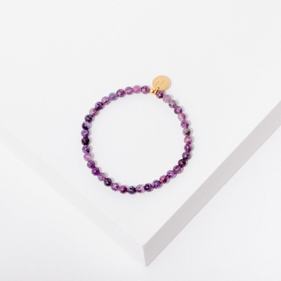 Healing Your Feelings Bracelet in Lepidolite