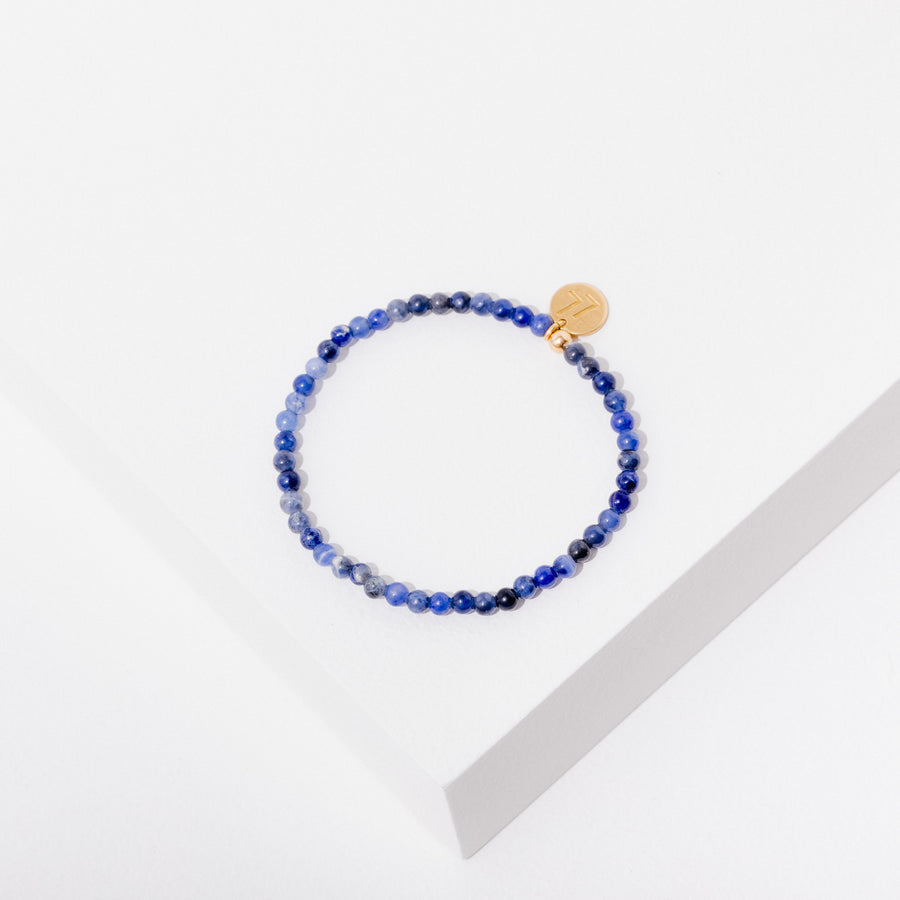 Healing Your Feelings Bracelet in Sodalite