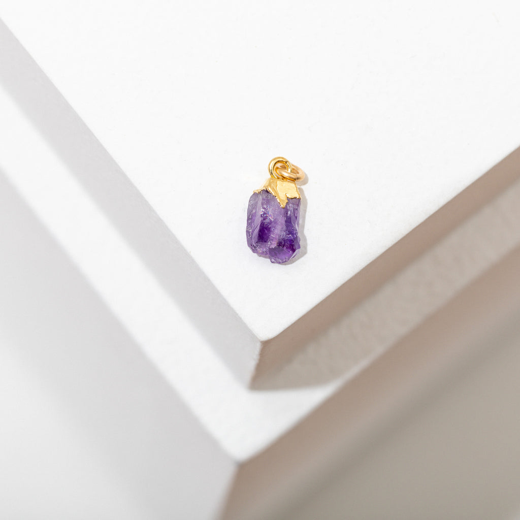 Birthstone Gemstone Charm