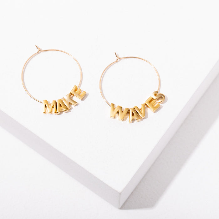 Make Waves - Wild Isles Collab Earrings