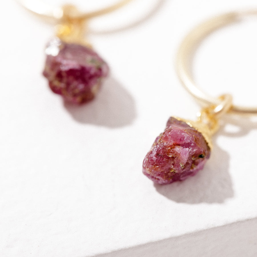 Birthstone Charm Earrings