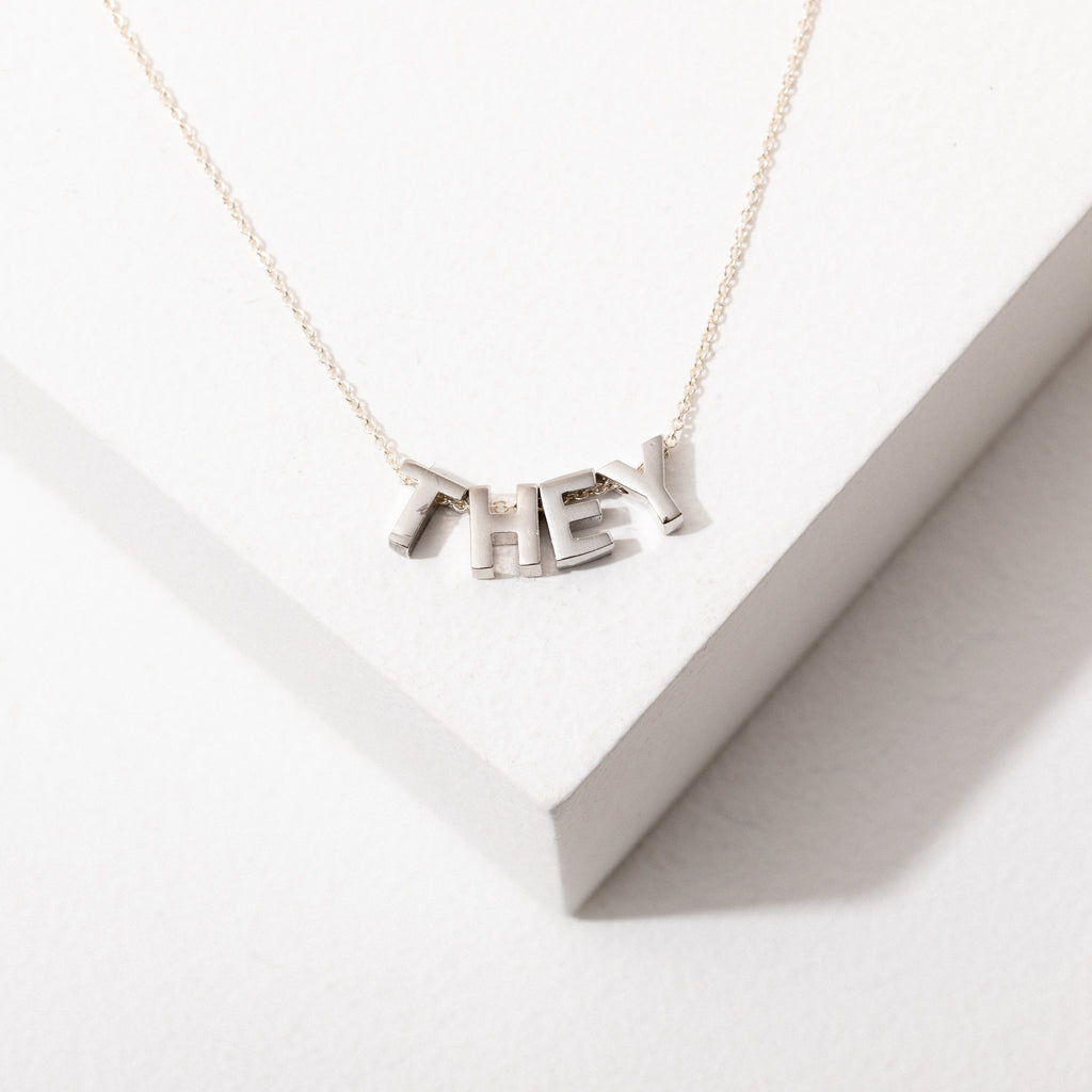 Pronoun Necklace