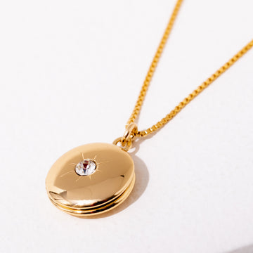 BYO Locket Necklace
