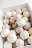 FIVE bath bombs