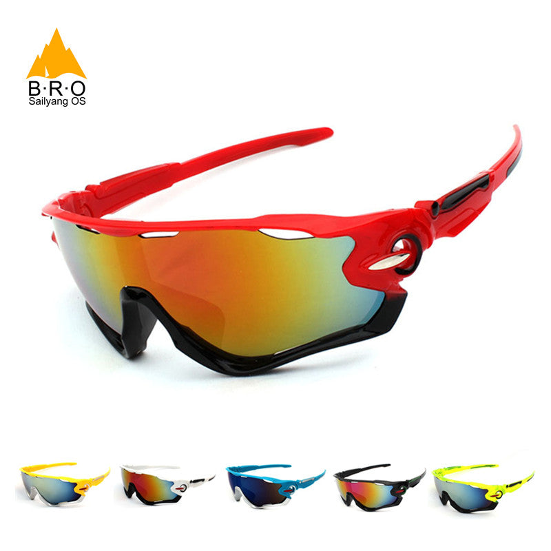 MTB Bicycle Cycling Sport Glasses Goggles Eyewear Oculos Ciclismo  Sunglasses for Men Women ... 57dfef8f40