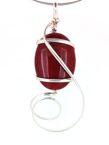 G08Z01 pendant with interchangeable stones