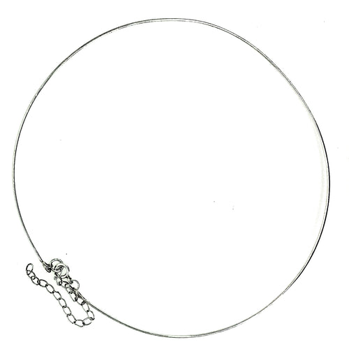 Sterling Silver Adjustable Neckwire