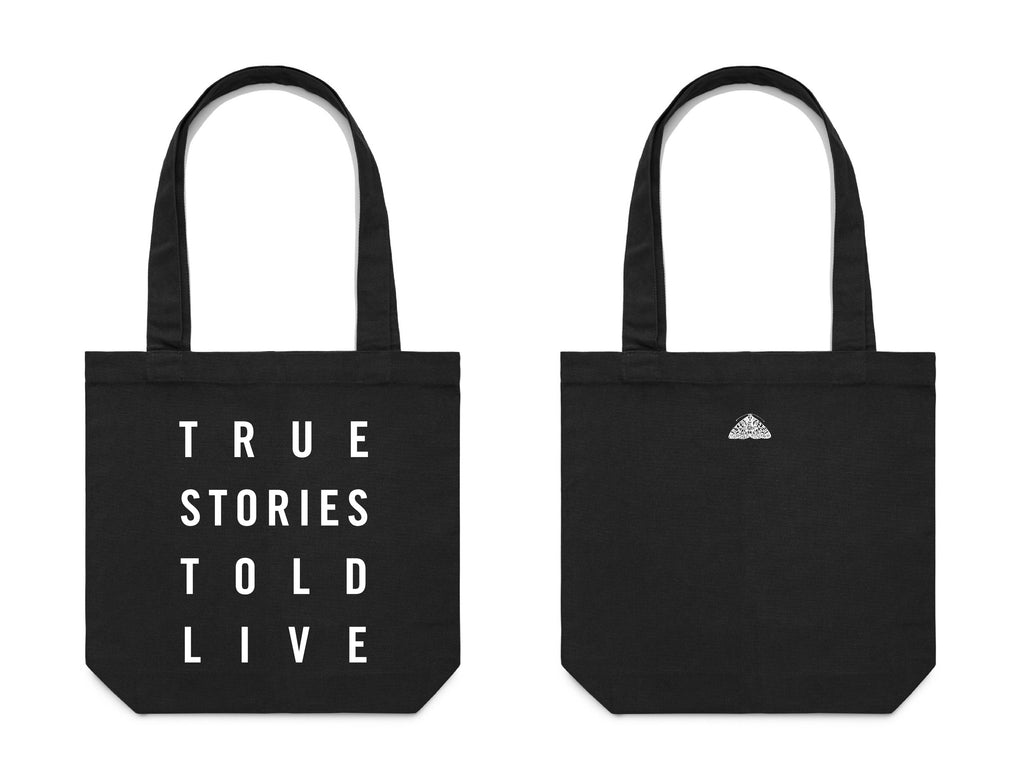 True Stories Told Live Tote