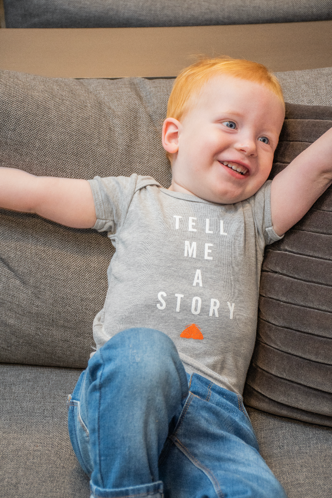 Tell Me A Story Baby Tee