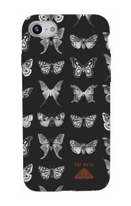 Moths iPhone Case