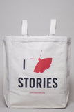 I Moth Stories Canvas Tote