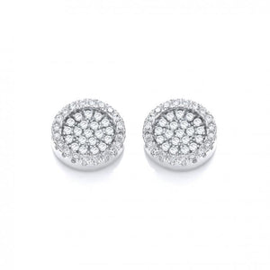 J Jaz Cluster Earrings
