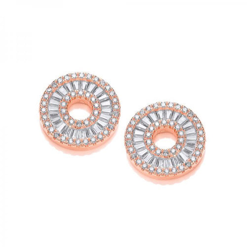 J Jaz Circle of Life Earrings