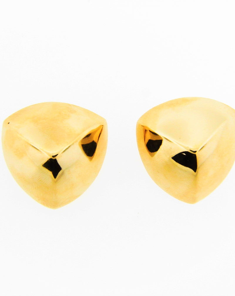 Retro 14K Yellow Gold Earrings | 18 Karat Appraisers | Beverly Hills, CA | Fine Jewelry