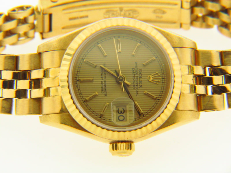 Lady's 18K Yellow Gold Rolex Watch | 18 Karat Appraisers | Beverly Hills, CA | Fine Jewelry