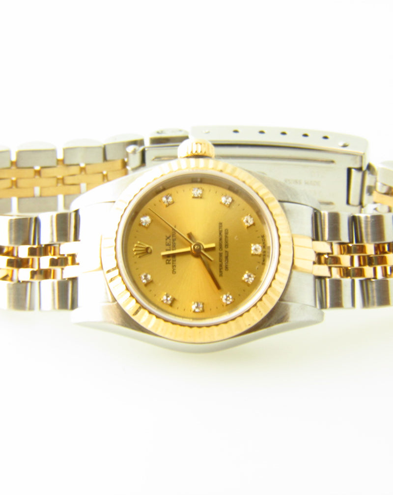 Ladies Oyster Perpetual Rolex Wristwatch