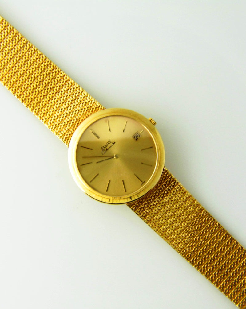 18K Yellow Gold, Wristwatch by Piaget