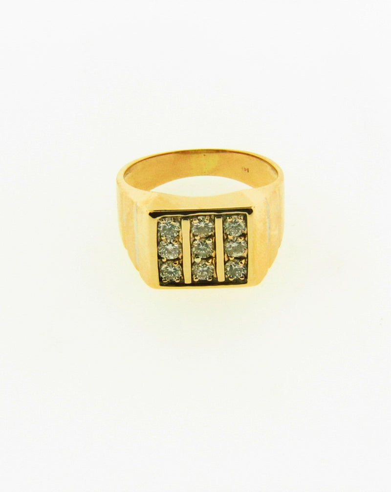 14K Yellow Gold Diamond Ring | 18 Karat Appraisers | Beverly Hills, CA | Fine Jewelry