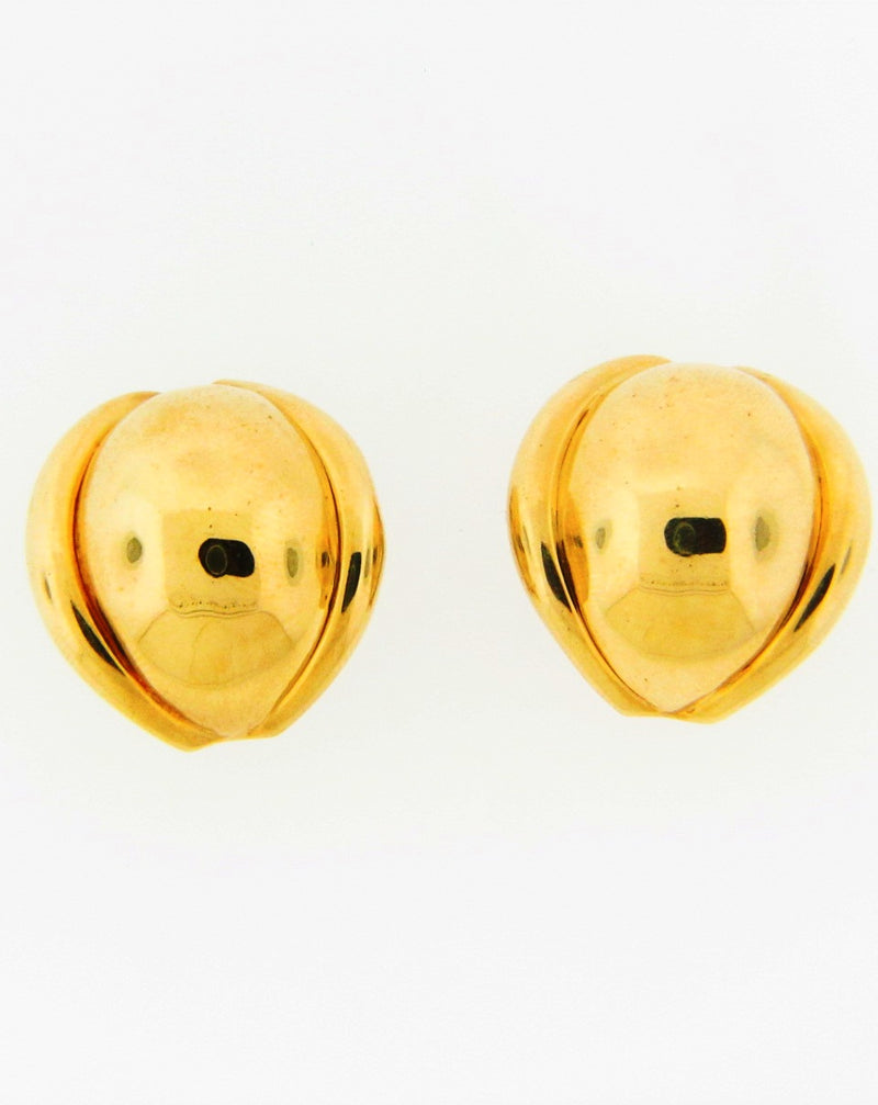 18K Yellow Gold Earrings | 18 Karat Appraisers | Beverly Hills, CA | Fine Jewelry