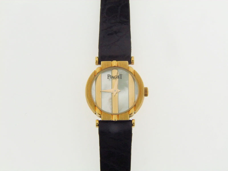 LADIES 18K YELLOW GOLD PIAGET POLO WRISTWATCH | 18 Karat Appraisers | Beverly Hills, CA | Fine Jewelry