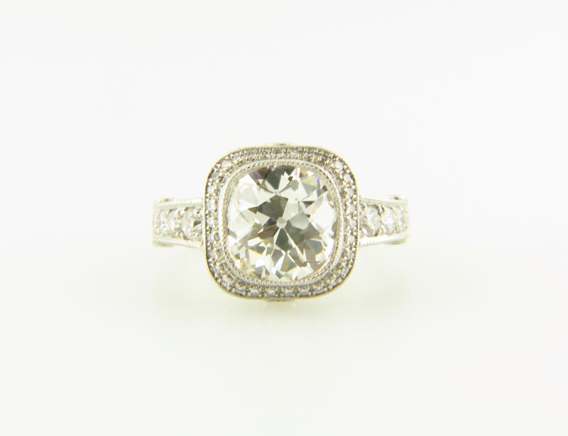 Platinum Diamond Solitaire Ring | 18 Karat Appraisers | Beverly Hills, CA | Fine Jewelry