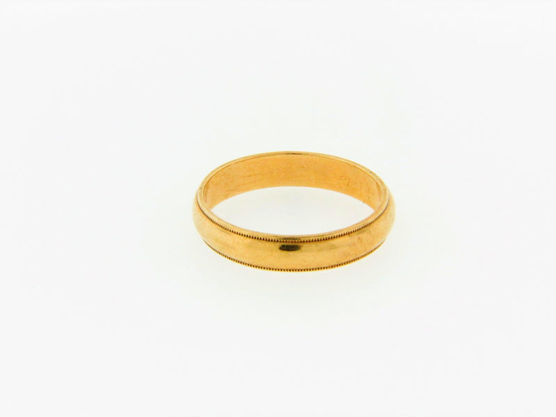 14K Yellow Gold Band | 18 Karat Appraisers | Beverly Hills, CA | Fine Jewelry