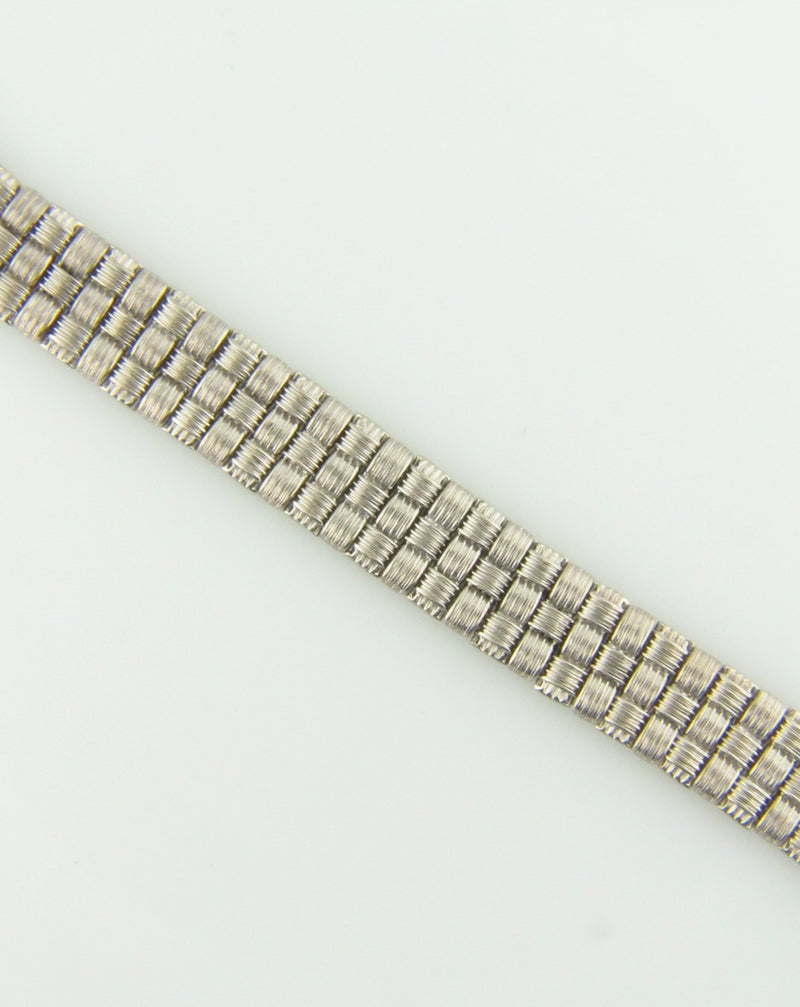 18K White Gold, Diamond Bracelet by