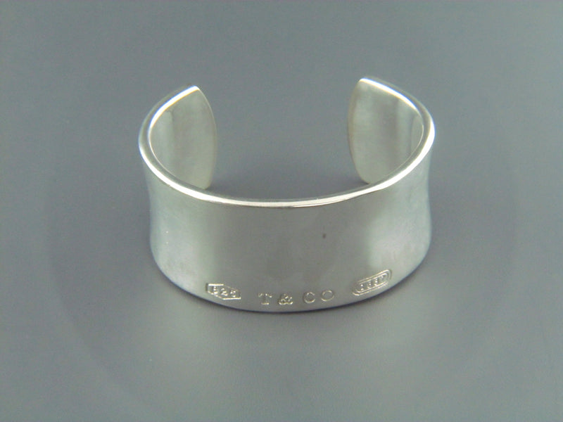 "Silver Cuff Bracelet by ""Tiffany & Co."" 