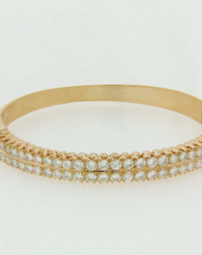 18K YELLOW GOLD DIAMOND BRACELET | 18 Karat Appraisers | Beverly Hills, CA | Fine Jewelry