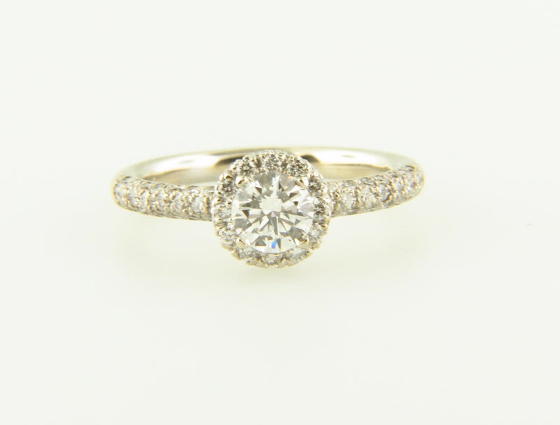 14K White Gold, Diamond Solitaire Ring | 18 Karat Appraisers | Beverly Hills, CA | Fine Jewelry