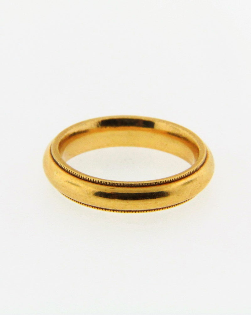 18K Yellow Gold Band | 18 Karat Appraisers | Beverly Hills, CA | Fine Jewelry