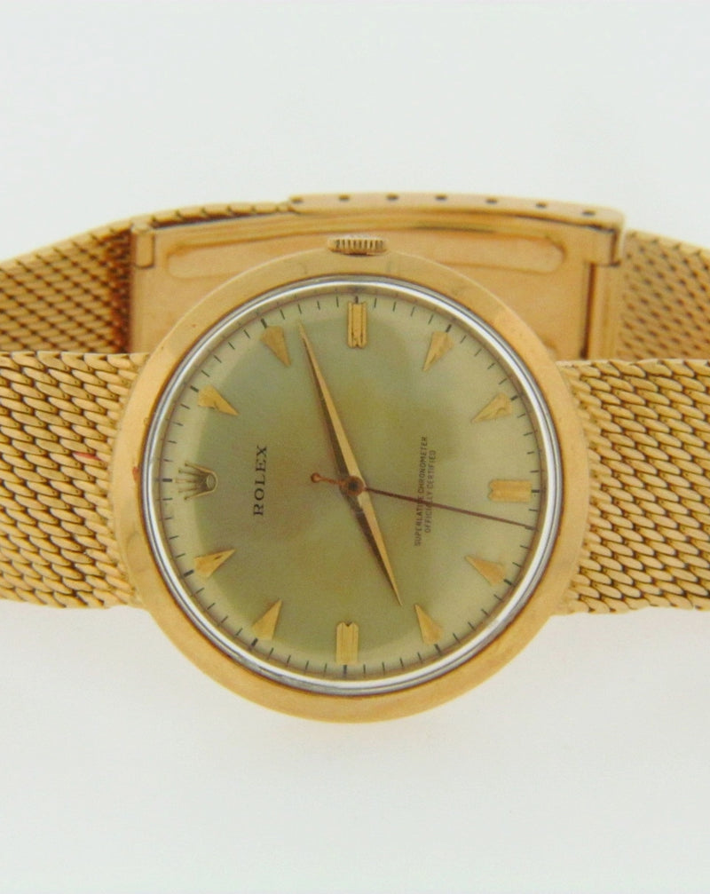 18K YELLOW GOLD VINTAGE ROLEX WRISTWATCH | 18 Karat Appraisers | Beverly Hills, CA | Fine Jewelry