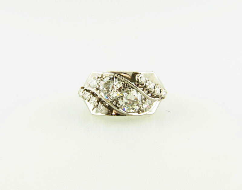 18K White Gold, Diamond Ring | 18 Karat Appraisers | Beverly Hills, CA | Fine Jewelry