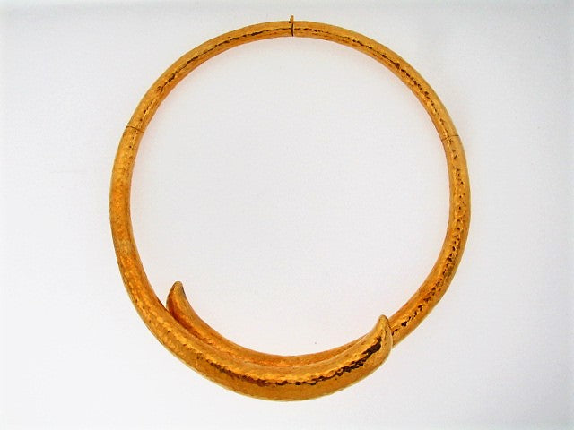 18K-YG COLLAR NECKLACE | 18 Karat Appraisers | Beverly Hills, CA | Fine Jewelry