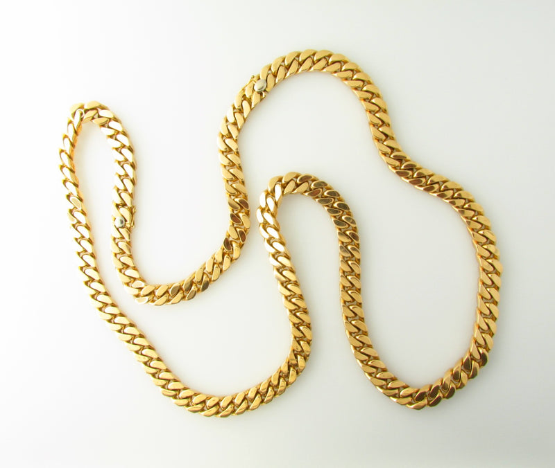 18K Yellow Gold Necklace by Bvlgari | 18 Karat Appraisers | Beverly Hills, CA | Fine Jewelry
