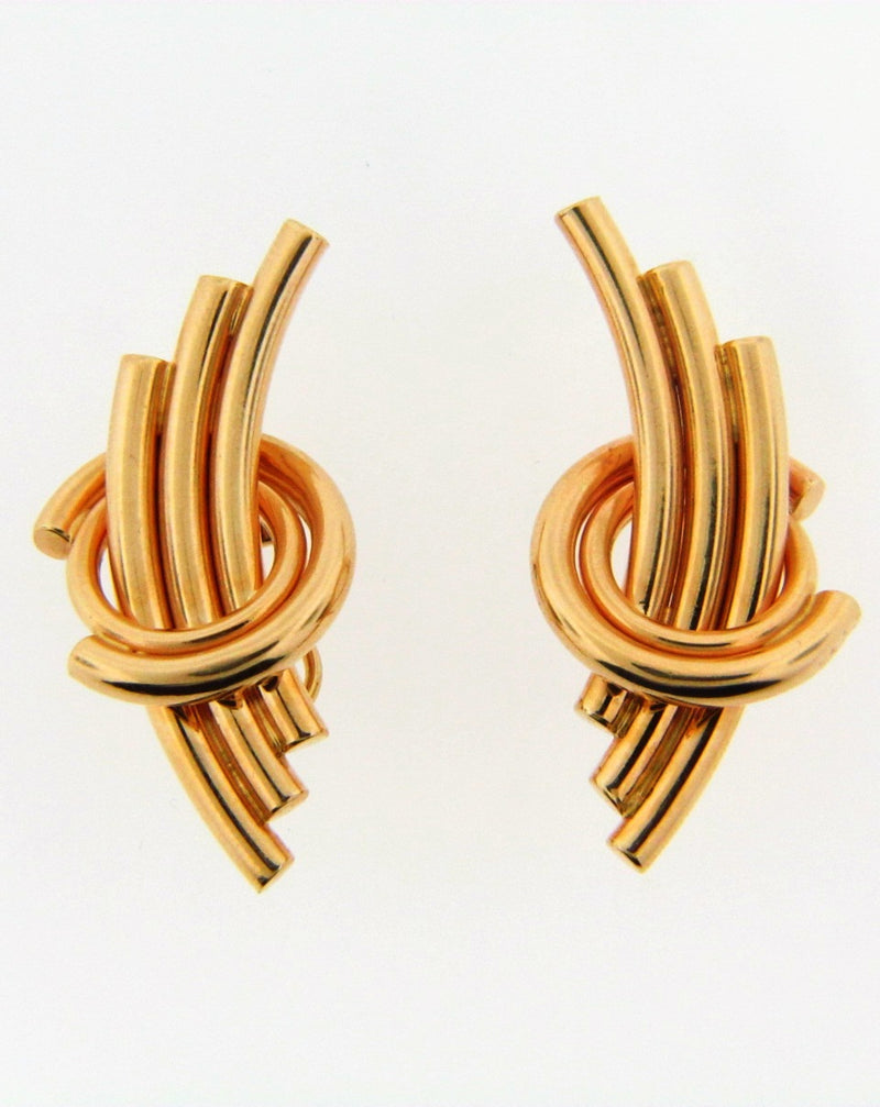 14K Yellow Gold Earrings | 18 Karat Appraisers | Beverly Hills, CA | Fine Jewelry