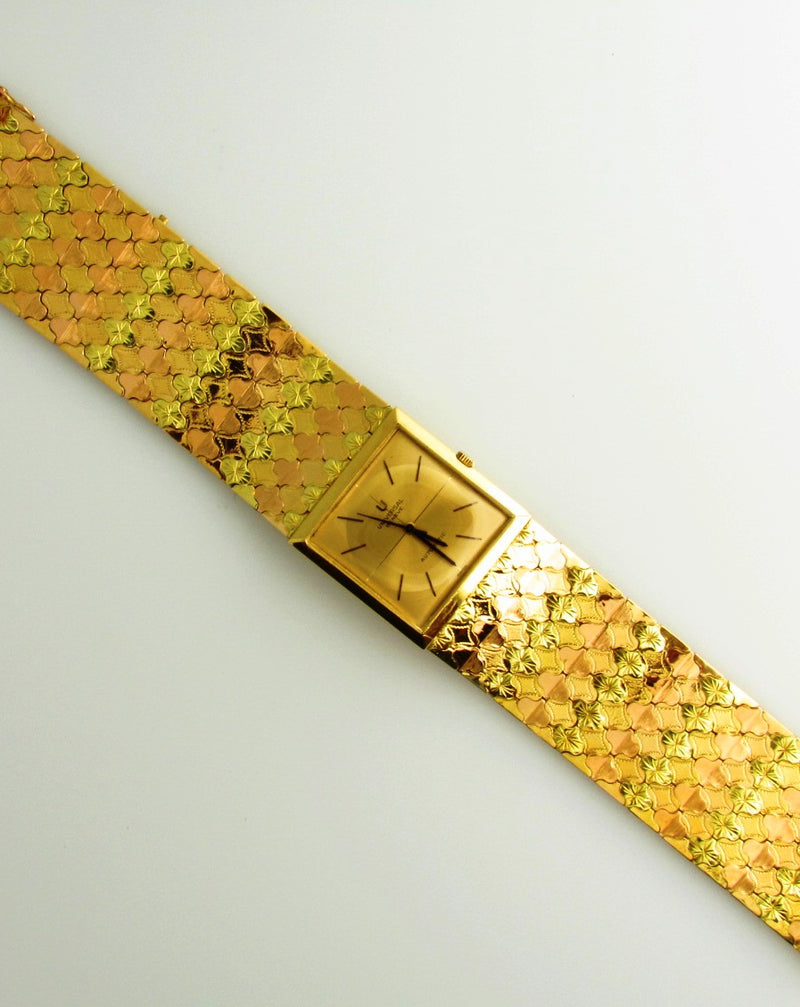 Retro 18K Yellow and Rose Gold, Wristwatch | 18 Karat Appraisers | Beverly Hills, CA | Fine Jewelry