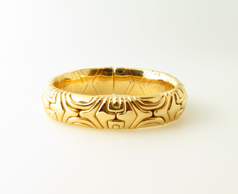 18K Yellow Gold, Bangle Bracelet by Bvlgari | 18 Karat Appraisers | Beverly Hills, CA | Fine Jewelry