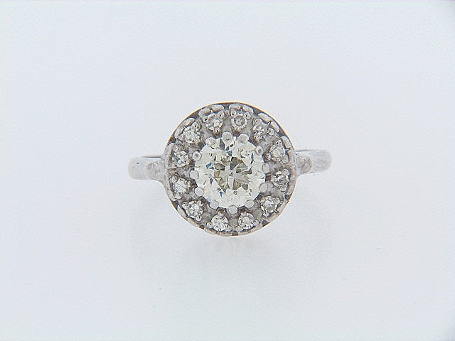14K-WG DIAMOND SOLITAIRE RING | 18 Karat Appraisers | Beverly Hills, CA | Fine Jewelry