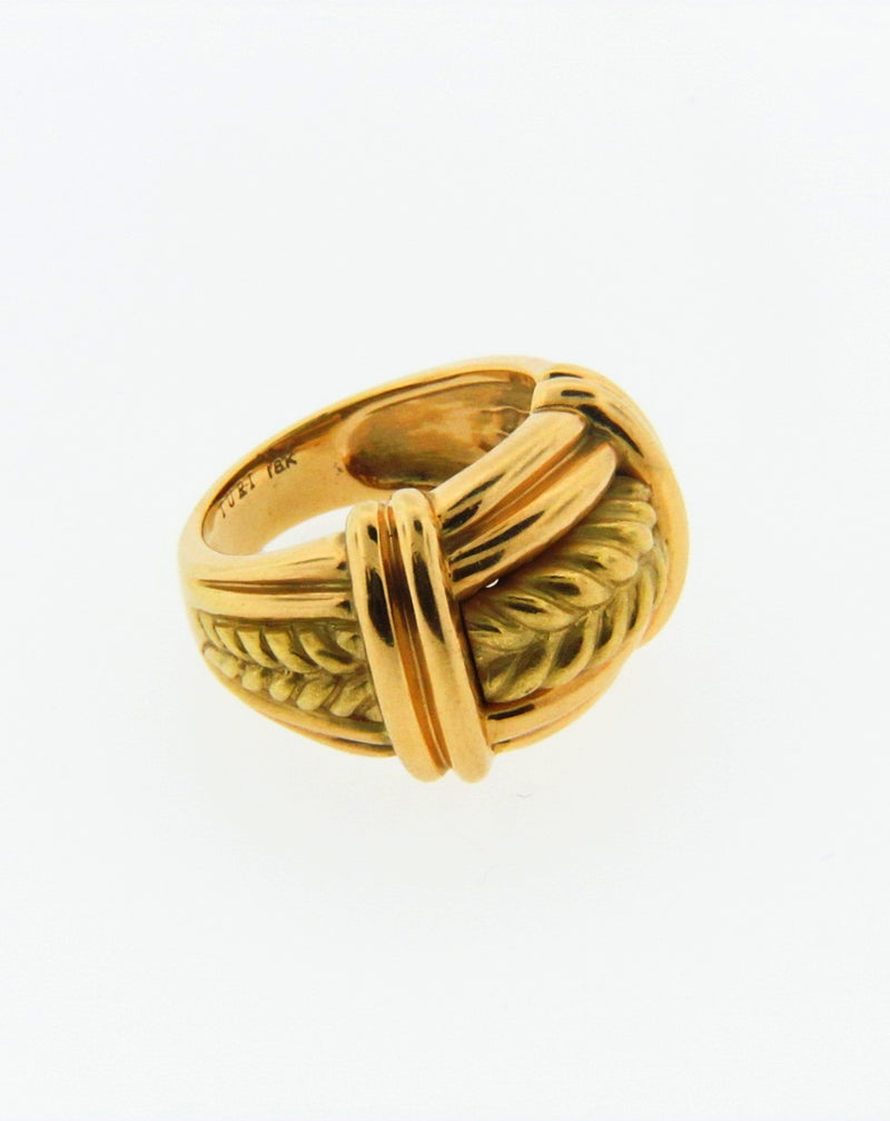 18K Yellow Gold Ring | 18 Karat Appraisers | Beverly Hills, CA | Fine Jewelry