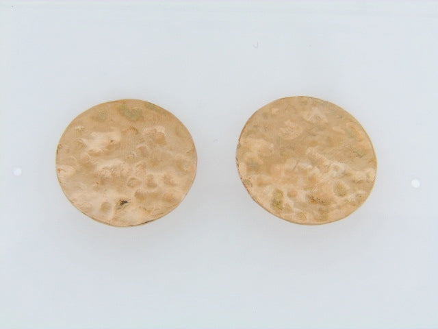 14K-YG CIRCULAR EARRINGS | 18 Karat Appraisers | Beverly Hills, CA | Fine Jewelry