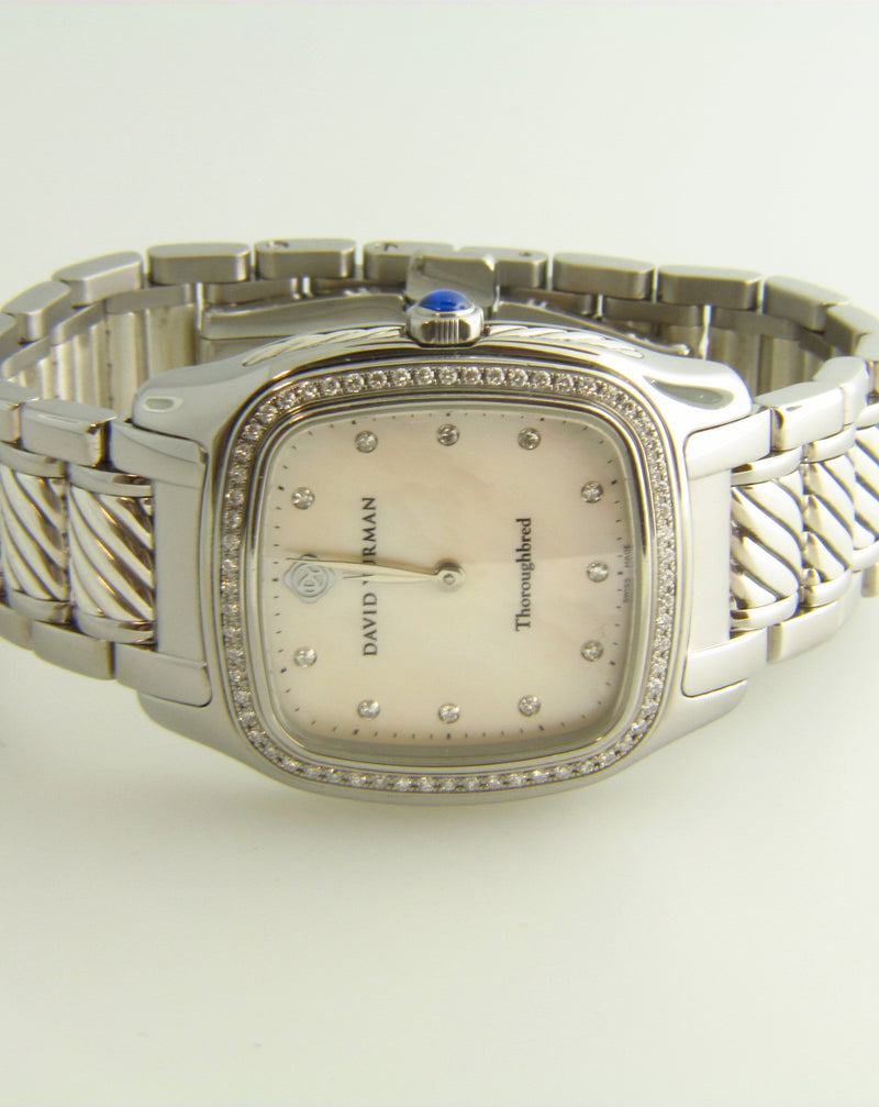 Stainless Steel, David Yurman Wristwatch | 18 Karat Appraisers | Beverly Hills, CA | Fine Jewelry