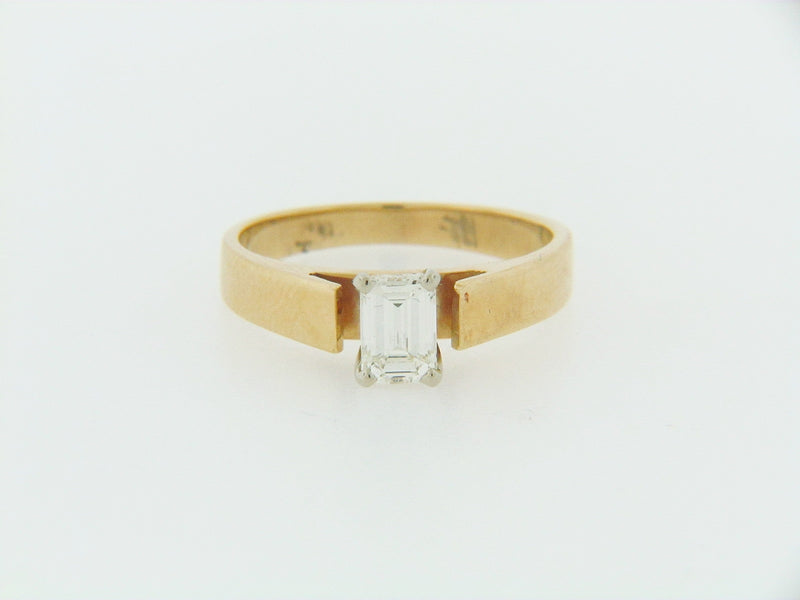 14K YELLOW GOLD DIAMOND SOLITAIRE RING | 18 Karat Appraisers | Beverly Hills, CA | Fine Jewelry