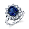 Platinum, Sapphire and Diamond Ring | 18 Karat Appraisers | Beverly Hills, CA | Fine Jewelry