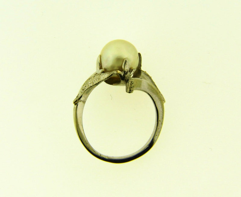 14K White Gold, Pearl Ring | 18 Karat Appraisers | Beverly Hills, CA | Fine Jewelry