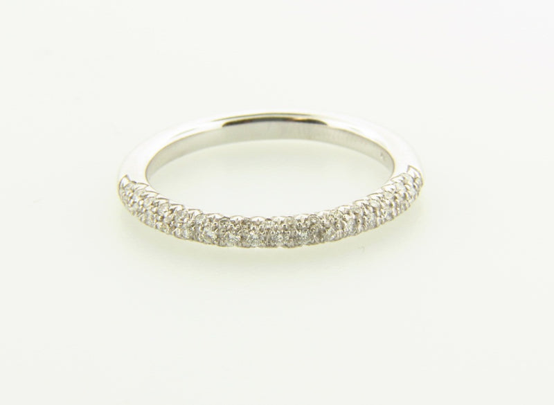 14K White Gold, Diamond Band | 18 Karat Appraisers | Beverly Hills, CA | Fine Jewelry
