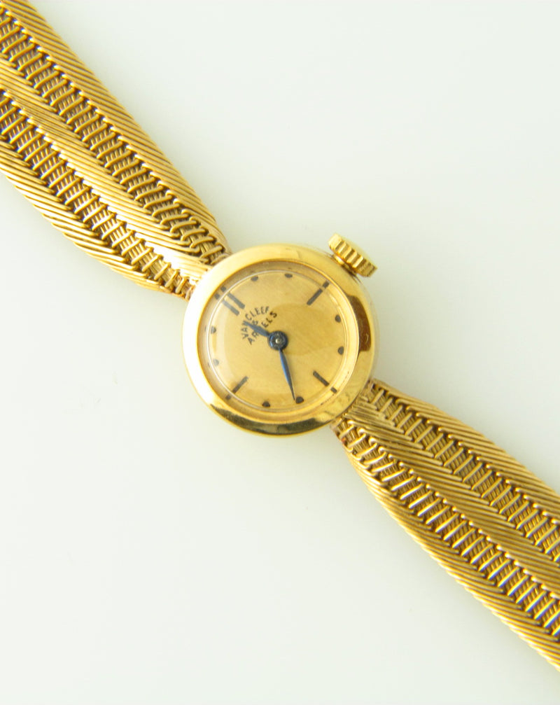 18K Yellow Gold Wristwatch by