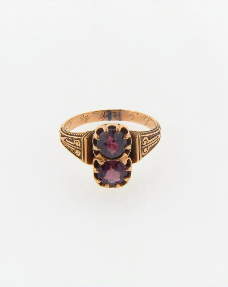 Victorian 18K Yellow Gold Ruby Ring | 18 Karat Appraisers | Beverly Hills, CA | Fine Jewelry